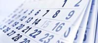 Calendario exámenes