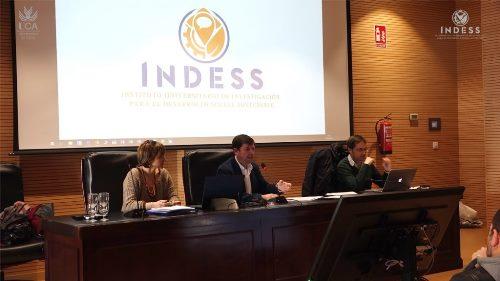Reunión Ordinaria del Instituto Universitario de Investigación para el Desarrollo Social Sostenible (INDESS)