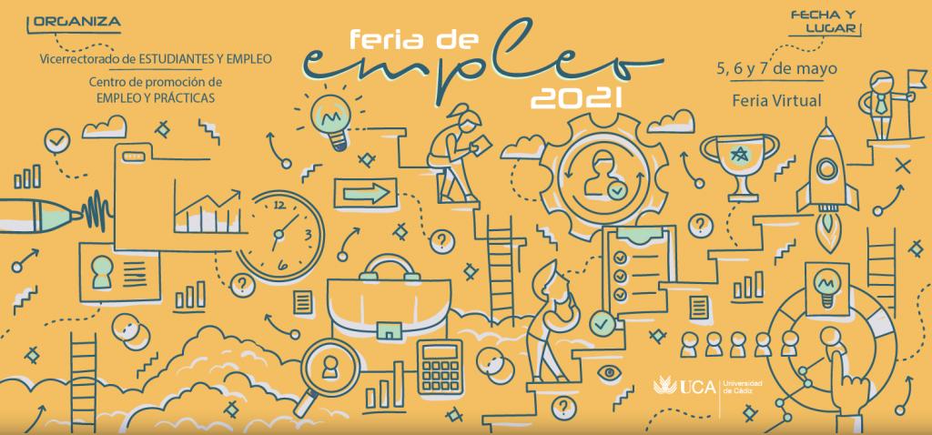 Feria de Empleo Virtual 2021 de la Universidad de Cádiz
