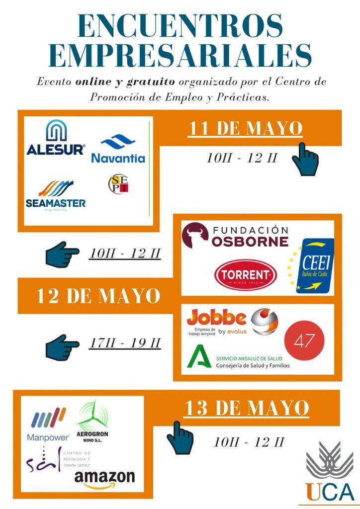 Encuentros Empresariales PIFE 11,12 y 13 mayo 2021